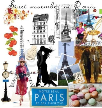 Sweet November in Paris by Viaggimarilore