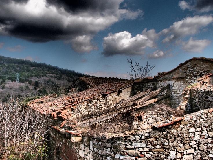 Le case abbandonate di Valibona