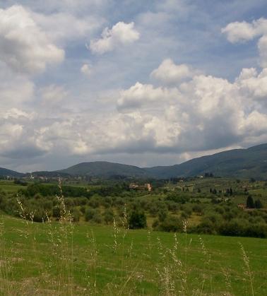 Paesaggi Toscani lungo la Strada della Consuma
