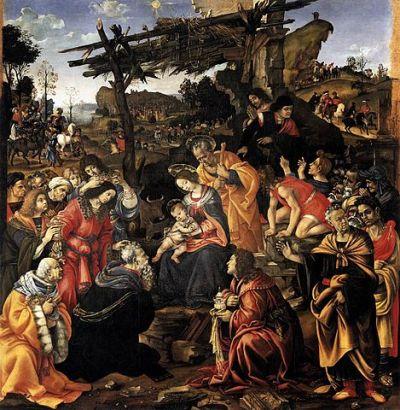 L'Adorazione dei Magi di Filippino Lippi, Uffizi