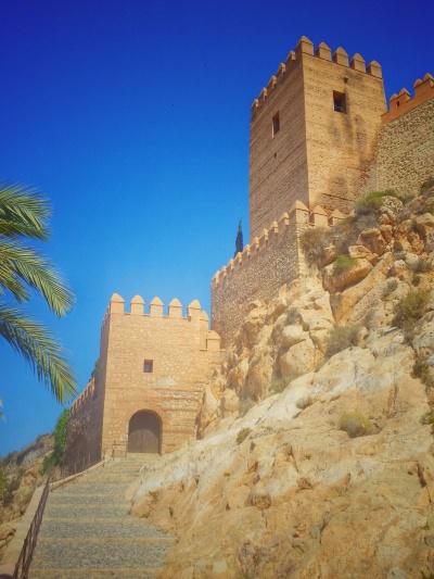 La fortezza dell'Alcazaba, Almeria