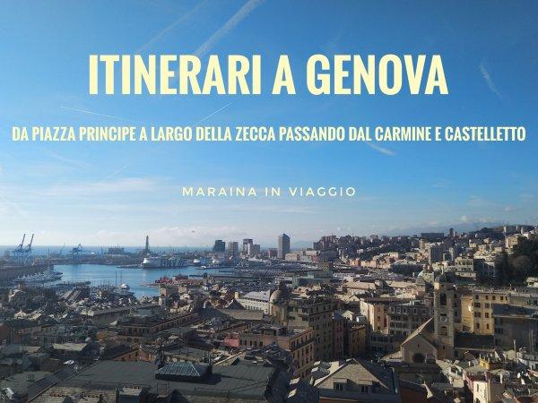 itinerari a genova