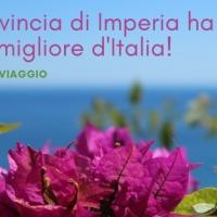 La provincia di Imperia ha il clima migliore d'Italia!